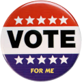 'Vote for me' button